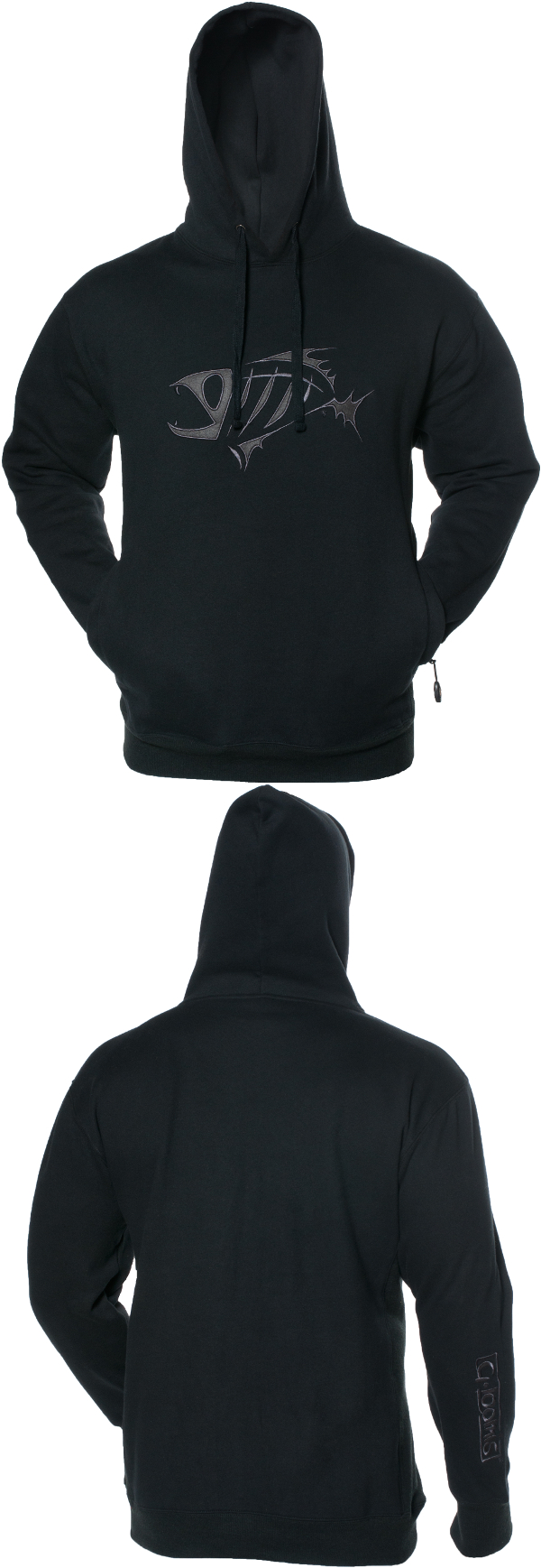 Transition-Premium-Hoodie-Black-Front-Back