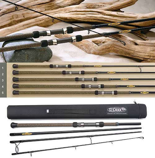 St Croix Triumph Surf Travel Rods