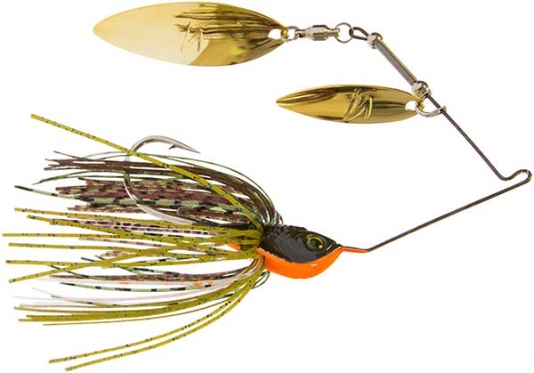 Select Color Z Man SlingbladeZ Double Willow Spinner Bait 3//8 oz