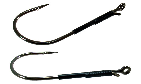 Gamakatsu Finesse Heavy Cover Worm with Wire Keeper Hook