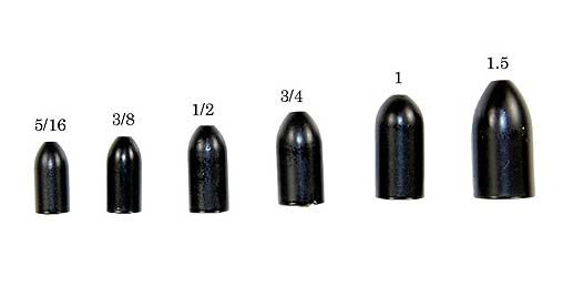 Gambler Tungsten Worm Weights