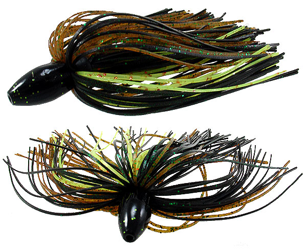Strike King Tour Grade Tungsten Slither Rig