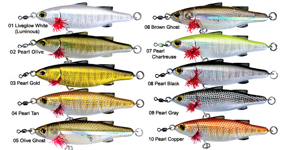 Unfair Lures Paul's Dinkum Mullet 70 Series