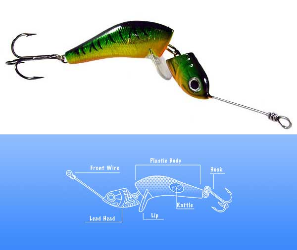 Wake Fishing Jig Wobbler