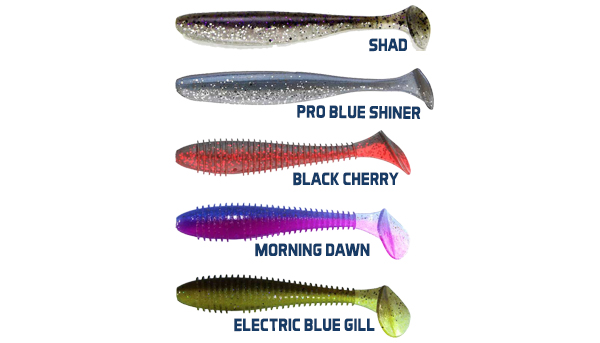 Keitech Easy Shiner & Fat Swing Impact - NEW COLORS