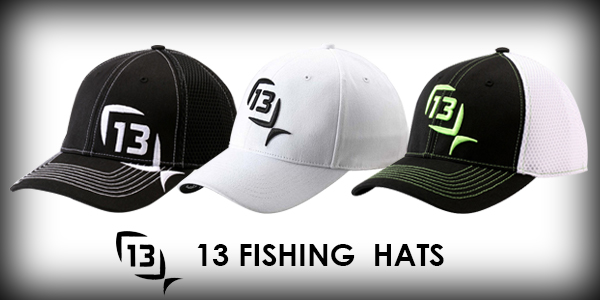 Landbigfish fishing tackle announcements messages for 13 fishing hat