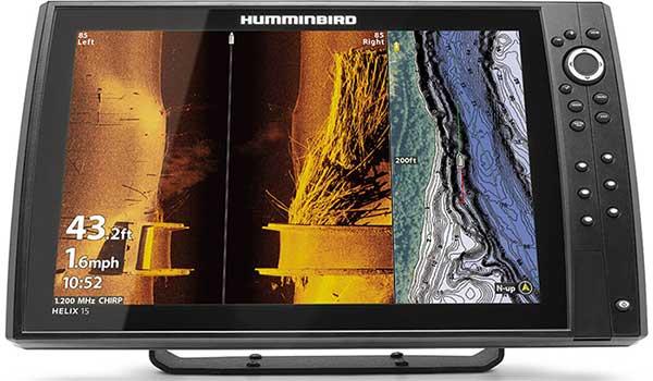 Humminbird HELIX 15 CHIRP MEGA SI+ GPS G4N - NEW IN BOATING