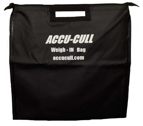 Accu-Cull Tournament Zippered Weigh-In Bag - NEW IN TOOLS & ACCESSORIES