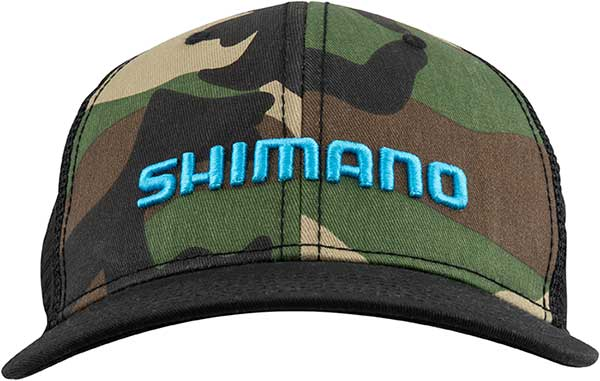 Shimano Camo Trucker Cap - NEW IN APPAREL
