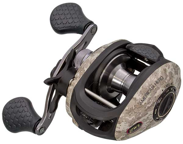 Lew's American Hero Camo Speed Spool Baitcast Reel - NEW REEL