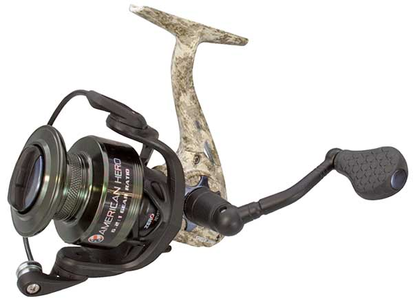 Lew's American Hero Camo Speed Spin Spinning Reel - NOW STOCKING