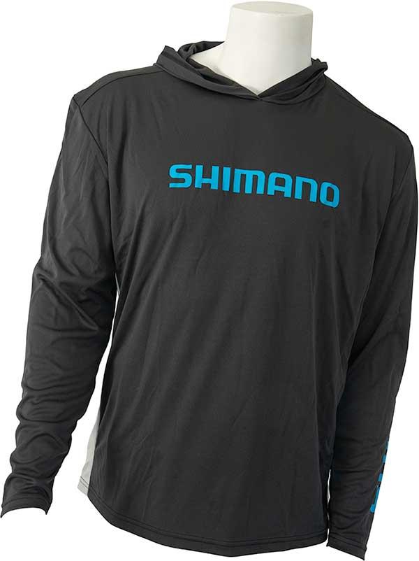 Shimano Hooded Long Sleeve Technical Tee Shirt - MORE COLORS