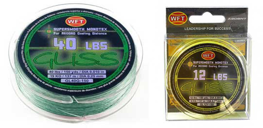 Landbigfish fishing tackle announcements messages for Gliss fishing line