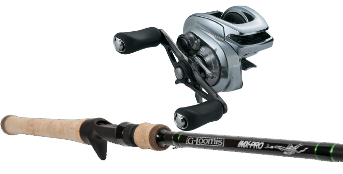 Shimano G.Loomis Bantam-IMX PRO 863 Exclusive Limited Edition Combo
