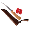 4 Inch Fillet Knife With Sharpener and Sheath