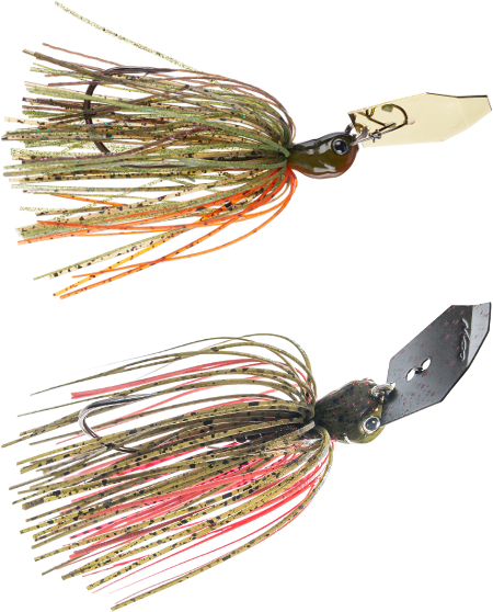 Z-Man Evergreen ChatterBait Jack Hammer - NEW COLORS & SIZE