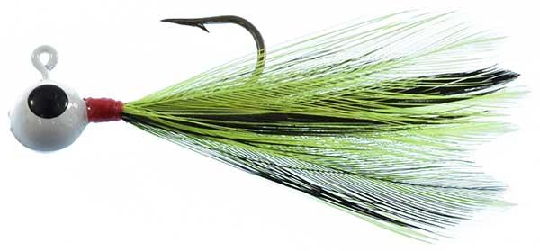 Cabin Creek Pop-Eye Feather Jig - NEW JIG