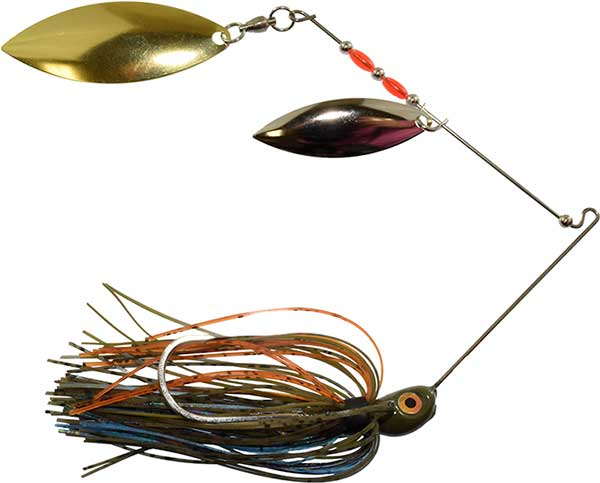 Cumberland Pro Lures Long Arm Double Willow Spinnerbait - NOW AVAILABLE