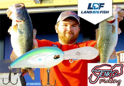 Jenko Fishing CD Series Deep Diving Crank Bait Wins Southern Open
