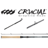 Crucial Bass Graphite Freshwater Casting Rods