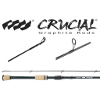 Crucial Bass Graphite Freshwater Spinning Rods