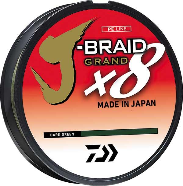 Daiwa J-Braid X8 Grand Braided Line - NEW IN FISHING LINE
