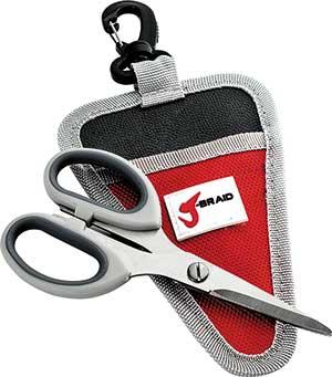 Daiwa J-Braid Braided Line Cutter With Sheath - NOW AVAILABLE