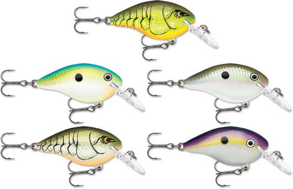 Rapala DT (Dives-To) Series - NEW COLORS AVAILABLE