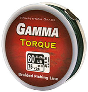 Gamma Torque Braided Fishing Line - NEW TO LBF!
