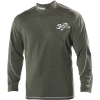 Modulus Mock Neck Long Sleeve Technical Tee Shirts