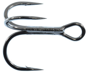 Gamakatsu Treble Short Shank Magic Eye Round Bend Hook - EXPANDED SELECTION