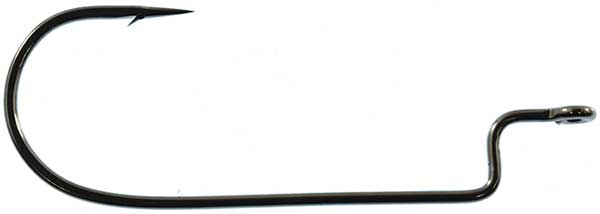 Gamakatsu Worm Offset Shank Round Bend Hook - MORE PACK SIZES