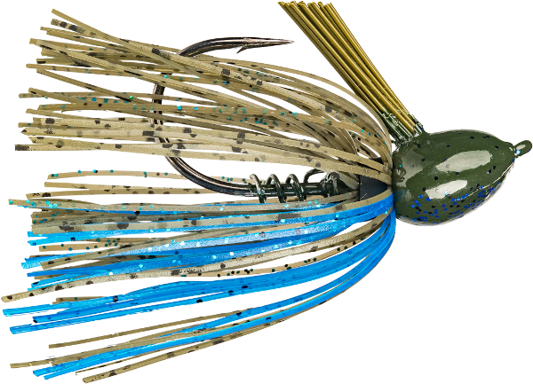 Strike King Hack Attack Fluoro Flipping Jig - NEW JIG