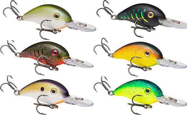 Strike King Pro-Model Crankbait Series 3 - NEW COLORS