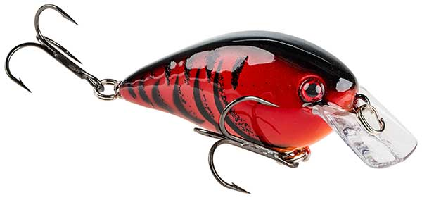 Strike King KVD Square Bill Pro-Model Crankbaits - DELTA RED!