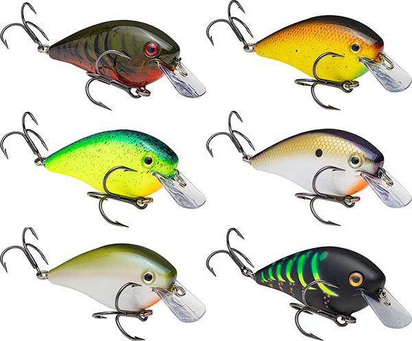 Strike King KVD Square Bill Pro-Model Crankbait - NEW COLORS