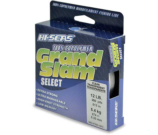 Hi-Seas Grand Slam Select 100% Copolymer Line - NOW IN STOCK