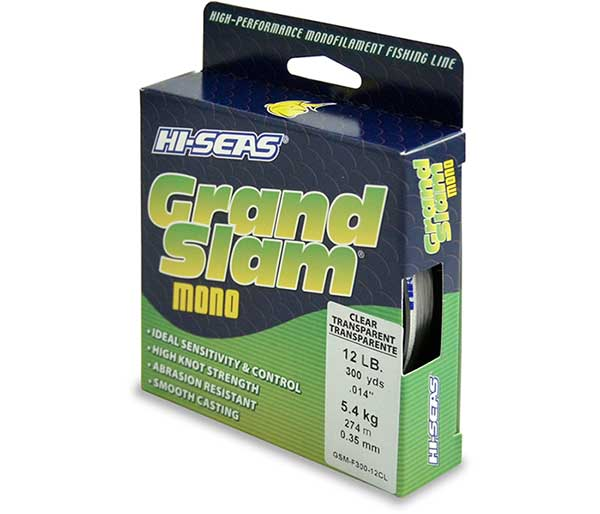 Hi-Seas Grand Slam Monofilament Line - NOW IN STOCK