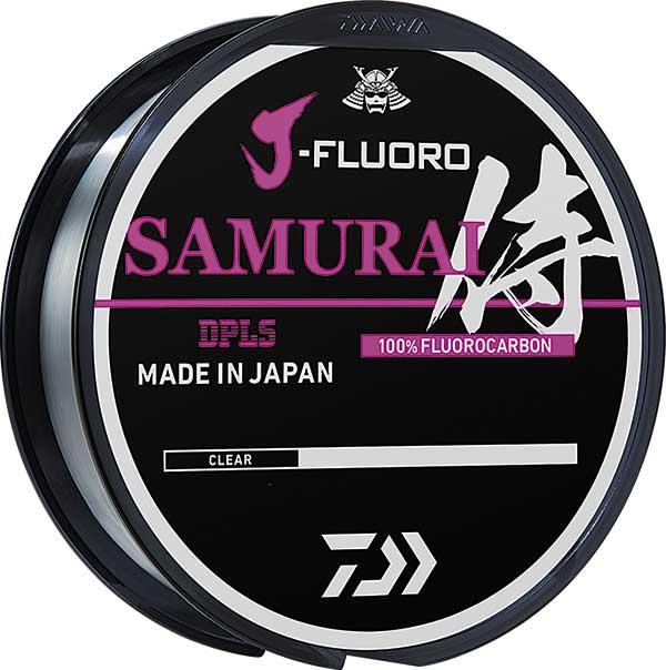 Daiwa J-Fluoro Samurai Fluorocarbon Line - NOW AVAILABLE