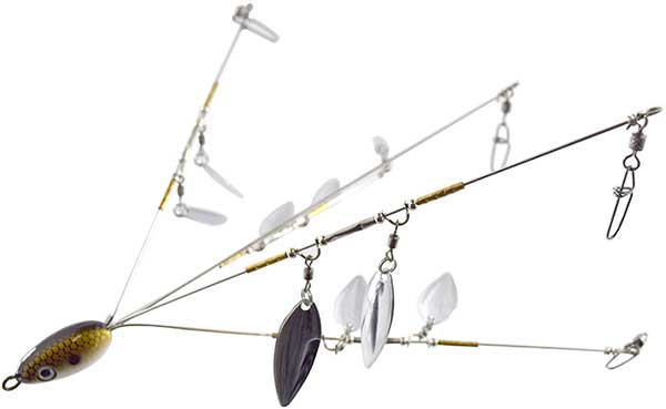 Jenko Fishing J-Pod Double Spin Flash Umbrella Rig - NEW LURE!