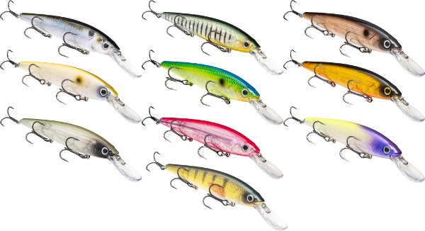 Strike King KVD Jerkbait Deep Diver - NEW COLORS