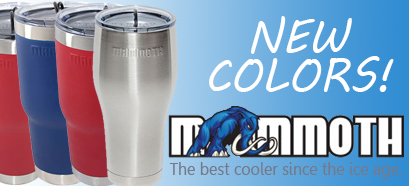 Mammoth Coolers Rover Tumbler Drinking Cup - NEW COLORS!