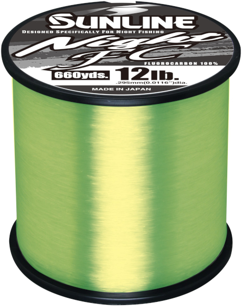 Sunline Night FC Fluorocarbon Line - NEW COLOR & SIZE