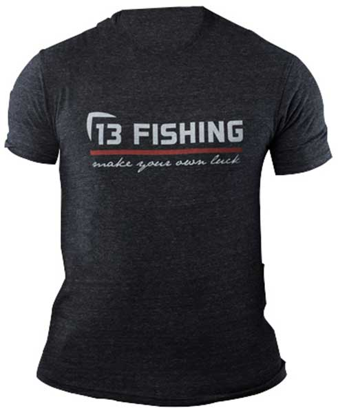 13 Fishing Red Line Short Sleeve T-Shirt - NEW APPAREL
