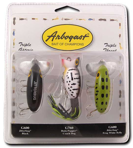 Arbogast Triple Threat Assortment - NOW IN STOCK