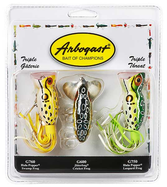 Arbogast Triple Threat 3-Pack Assortment - NOW IN STOCK