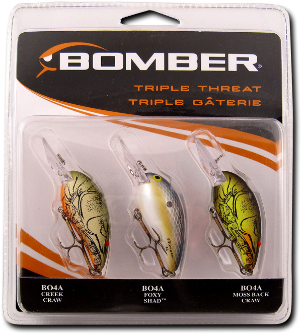 Bomber Lures Triple Threat Assortment - NOW IN STOCK