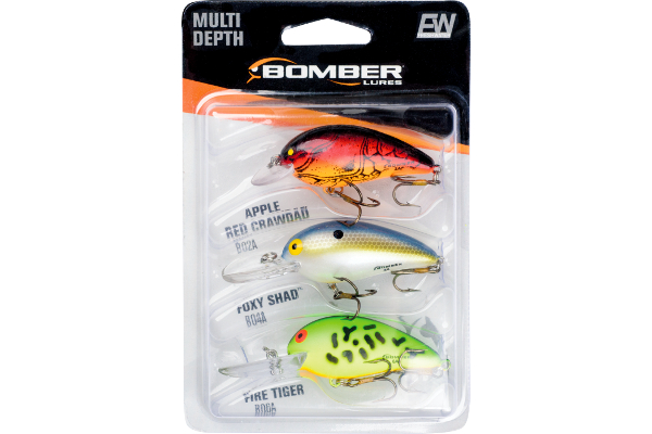 Bomber Model A Multi-Depth 3-Pack - NEW HARD BAIT ASSORTMENT