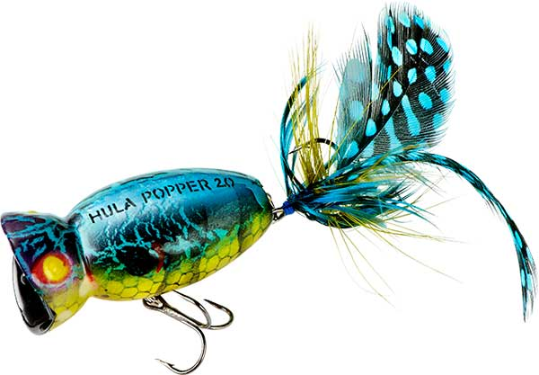 Arbogast Hula Popper 2.0 - NEW IN HARD BAITS