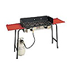 Camp Chef Professional Deluxe Double Burner Stove Package